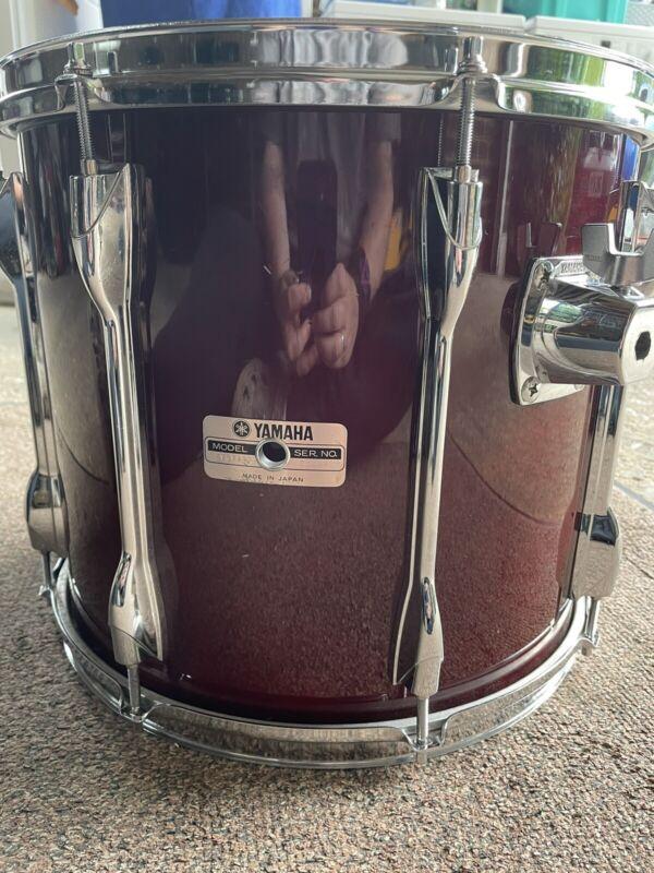 yamaha 9000 recording custom tom 14x12 80s Cherry Wood