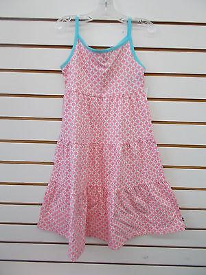 Girls Nautica $34.50 Soft Coral w/ Aqua Trim Dress Size 5 - 6X