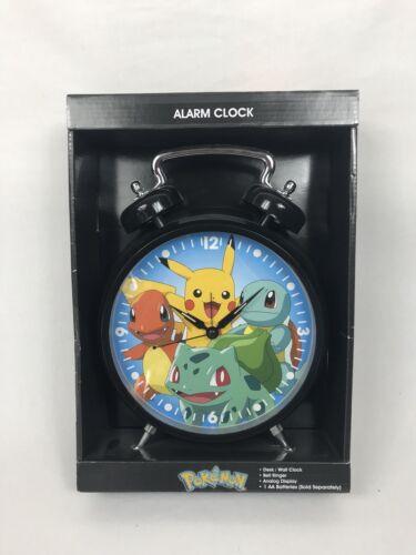 NEW! 2015 Nintendo Pokémon Collectible Wall/Desk Bedroom Alarm Clock In Box