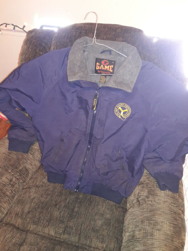 GAME jacket L BRC Belt Railway of Chicago very rare and nice