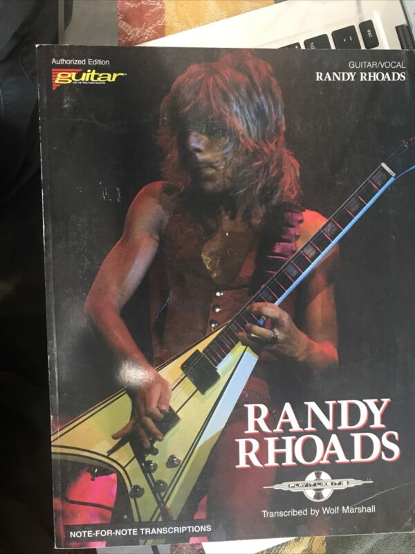 Randy Roads Note For Note Transcription