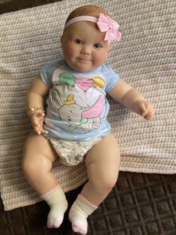 Reborn June 7 Months Baby Girl