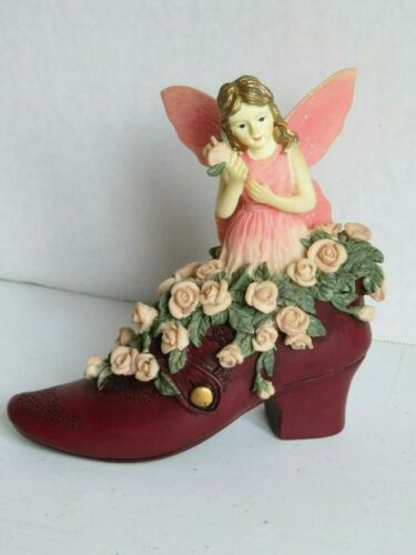"""1999 Dezine Fairy Collection """"Fairy in The Shoe"""" #5848 Limited Edition Numbered"""