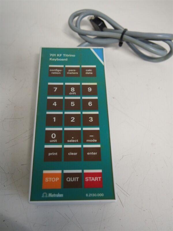 Metrohm 701 KF Titrino Keyboard
