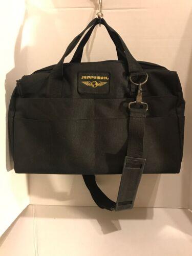 Jeppesen Student Pilot Flight Bag BLACK NYLON