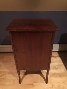 Solid wood mahogany Music Cabinet