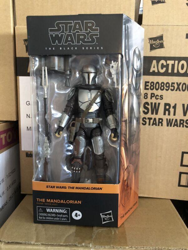 STAR WARS BLACK SERIES: 6 Inch - The Mandalorian - Beskar Armor - Case Fresh
