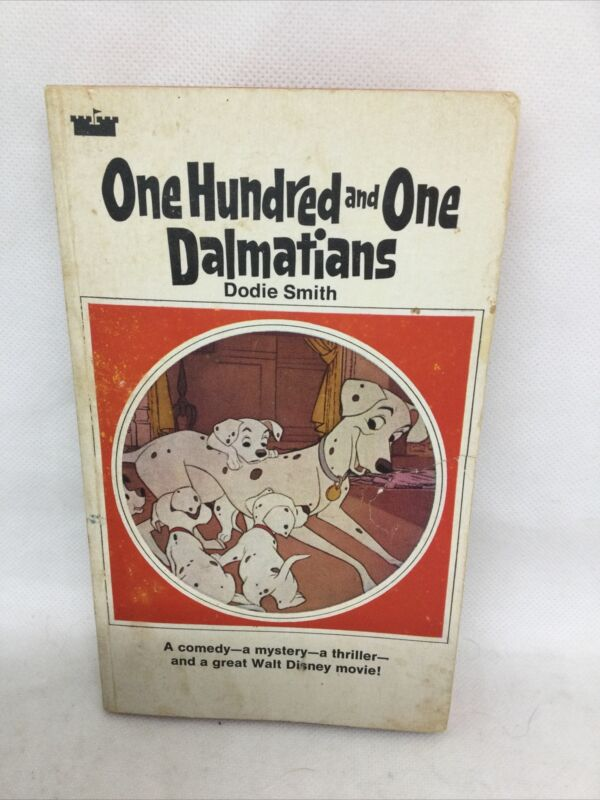 Vintage One Hundred And One Dalmations By Dodie Smith, Avon Camelot Books 1969
