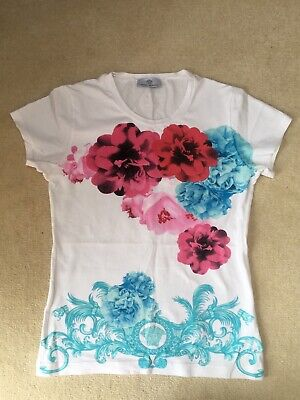 Girls Versace T-shirt In Good Condition Size 14-16 Years
