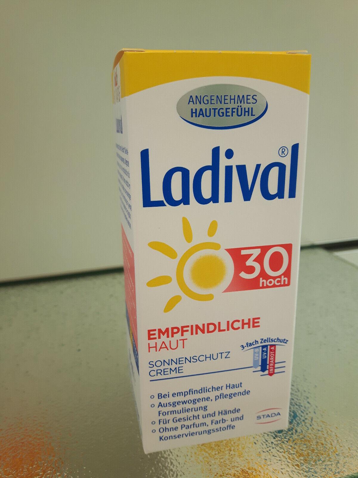 Ladival empfindliche Haut Sonnenschutzcreme fürs Gesicht LSF30 50ml PZN13229715