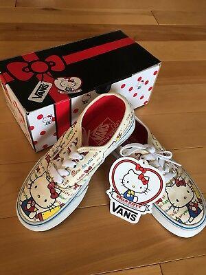 Brand NEW in original Box!  Hello Kitty Vans Kids Size 12 Sneakers (Childrens Hello Kitty Vans)