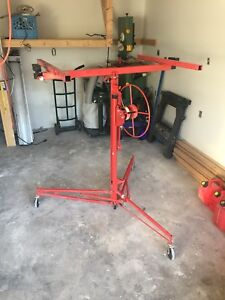 Red Drywall lift