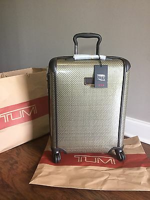 Tumi Tegra Lite International Slim Carry On Luggage Lightweight 28807 Fossil