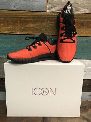 Under Armour Men's HOVR SLK Running Shoes Black & Orange Size 13 Christmas Gifts