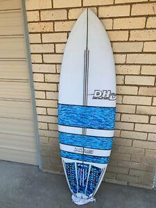 Surfboard DHD XRS 5 fin 5 6 x 20 1/2 x 2 7/16 31.5 L