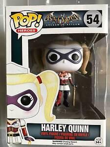POP! Vinyl 54 Batman Arkham Asylum - Harley Quinn Capital Hill South Canberra Preview