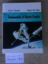 Fundamentals of Electric Circuits North Narrabeen Pittwater Area Preview