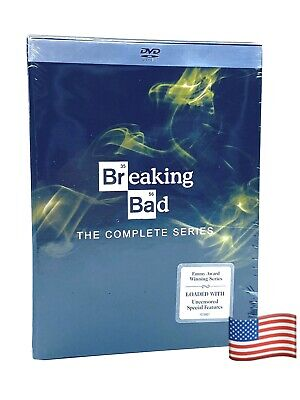 Breaking Bad: The Complete Series (DVD, 2014, 21-Disc Set) Same Day Shipping