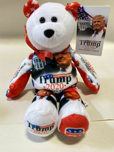 Donald Trump 2020 Limited Edition Re-election Campaign Teddy Bear