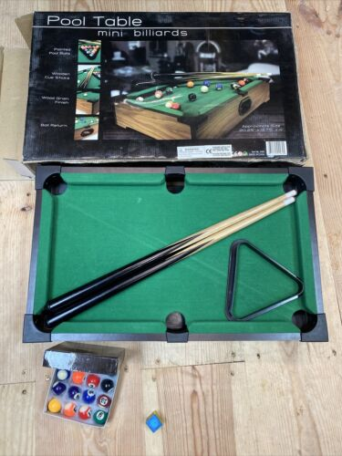 Mini Pool Table Mini Billiards Table