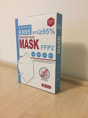FFP2 Schutzmaske (CE & FDA zertifiziert) 1 Packung beinhaltet 20Stück