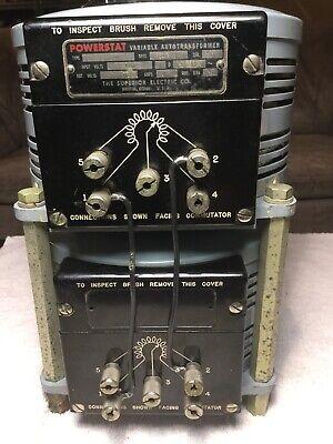 Superior Electric Powerstat 136-2p 120v 5.6 Kva 40amp Variable Autotransformer