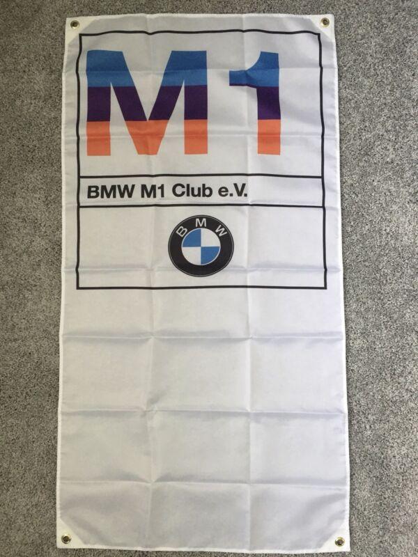 BMW M1 Banner Flag - MotorSport Alpina Hartge M5 3.0cs 2002 DTM M6 Dtm E30 M3 Z3