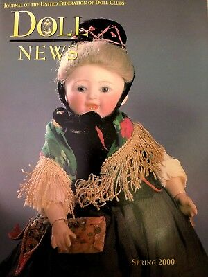 2000 Doll News Journal Of The United Federation Of Doll Clubs  Spring