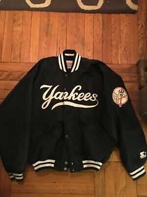Authentic Vintage 90s Fall Dugout New York Yankees Starter Jacket