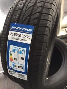 Snow tires installed balanced $399