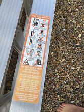 Gorilla 2.4-4.5m 150kg Dual Purpose Aluminium Ladder Newington Auburn Area Preview