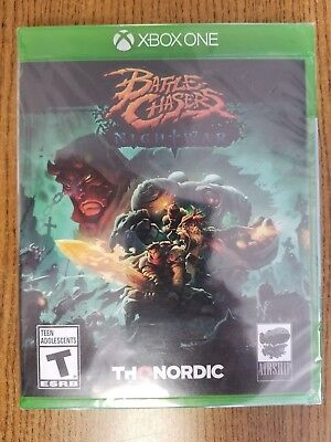 Battle Chasers  Nightwar  Microsoft Xbox One  2017    Brand New Sealed
