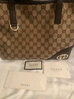 gucci handbag authentic used