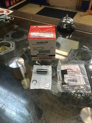 1978-2006 Suzuki Jr50 Wiseco Piston Kit, Standard 41.00mm Bore, Stock