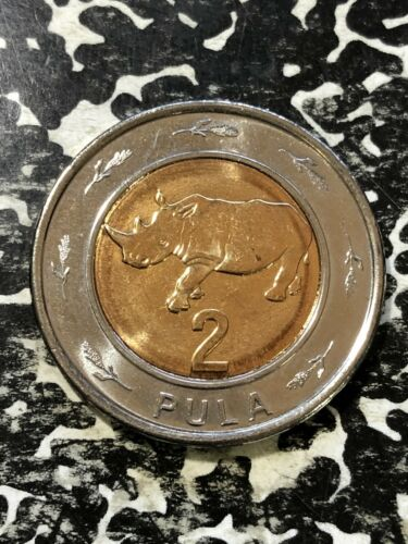 2013 Botswana 2 Pula (3 Available) High Grade! Beautiful! (1 Coin Only)