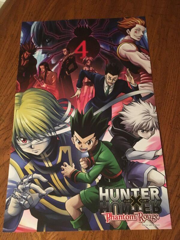 HUNTER X HUNTER Phantom Rouge Movie Anime Manga Promo Poster NYCC 2017Yûzo Satô