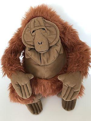 "Disney The Jungle Book King Louie Monkey Plush Stuffed Toy 14"""