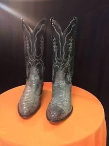Tony Lama San Saba Full Quill Ostrich Cowboy Boots - Pointy Toe Preston Darebin Area Preview