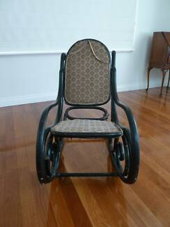 Antique English bentwood rocking chair for restoration Mount Lawley Stirling Area Preview