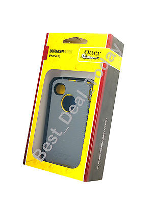 Otterbox Rugged Defender Case W/ Holster For Apple Iphone...