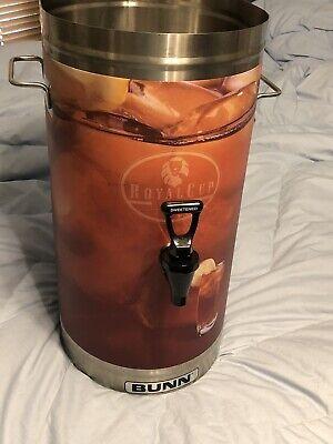 Bunn Tdo-4 Rsvr-bt Royal Stainless Steel Commercial Iced Tea Dispenser 4 Glnew