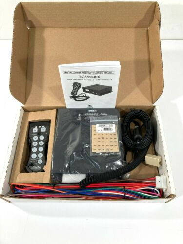 NEW STAR SIGNAL LCS880-016 UNISTAR COMMAND CENTER AMPLIFIER & LIGHT CONTROLLER