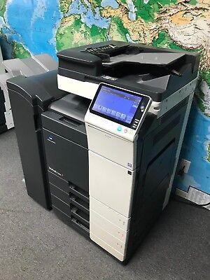 Konica Minolta Bizhub C308 Color Copierprintscanfs-534 Low Total Meter 46k