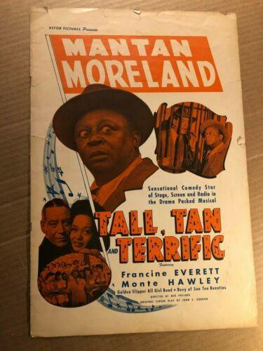 Tall Tan Terrific Very Rare Original Movie Press Book 1946 Mantan Moreland