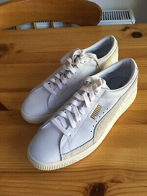 Puma Basket Lux (worn once) UK 10