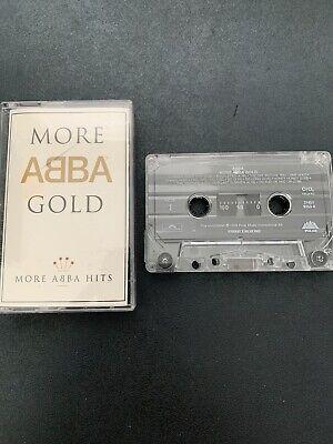 MORE ABBA GOLD INTERNATIONAL  CASSETTE RELEASE 1993 POLAR / POLYDOR