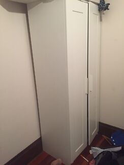 Tall IKEA 2 Door Wardrobe / Cupboard