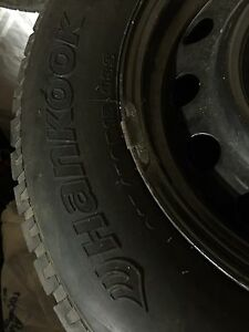 """2 sets of winter tires 15"""""""
