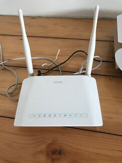 D-Link wireless ADSL2+ Modem Router