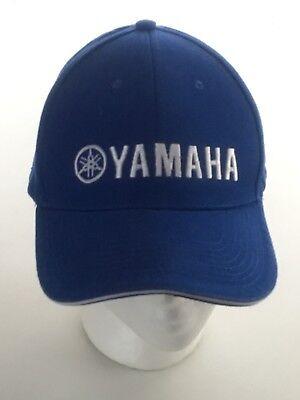 Blue Yamaha Motorcycle Logo YZF TFX FZ Boat Motors Hat Cap